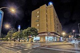Edificio del parking Hospital Alicante