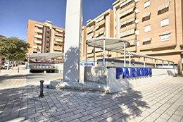 Exterior del parking Hospital Alicante