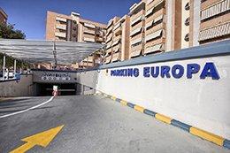 Rampa del parking Hospital Alicante